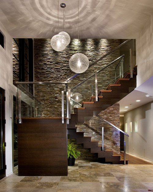 Contemporary Entry by Winter Park Architects & Building Designers Phil Kean Design Group