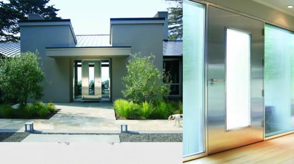 Neoporte doors modern-entry