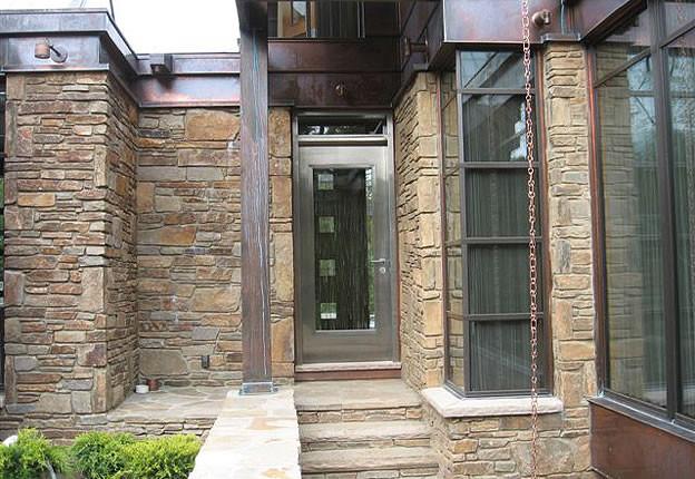 Contemporary Steel Front Doors