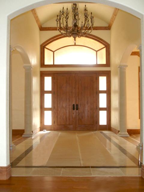 Net-Zero Custom Home traditional-entry