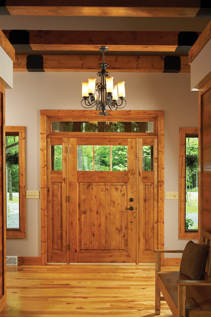 New Bungalow - front door - Traditional - Entry - by Kolbe Windows u0026 Doors