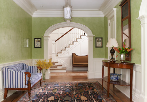 greenery entry via houzz