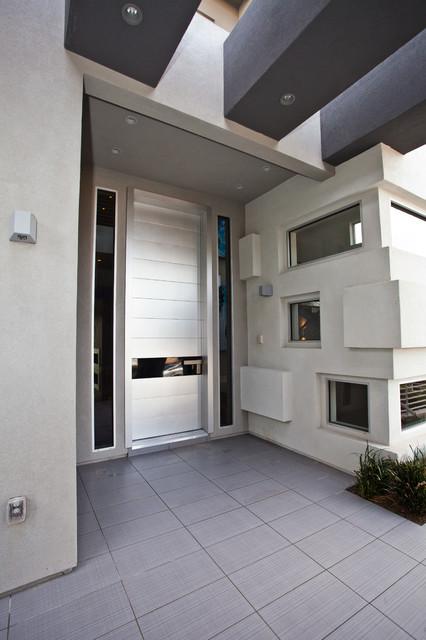 New City Door Anodized Aluminum Contemporary Entry Door