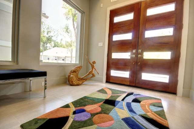New Custom Home Construction contemporary-entry