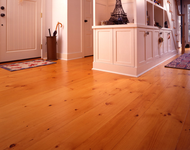 New England Eastern White Pine Wide Plank Flooring