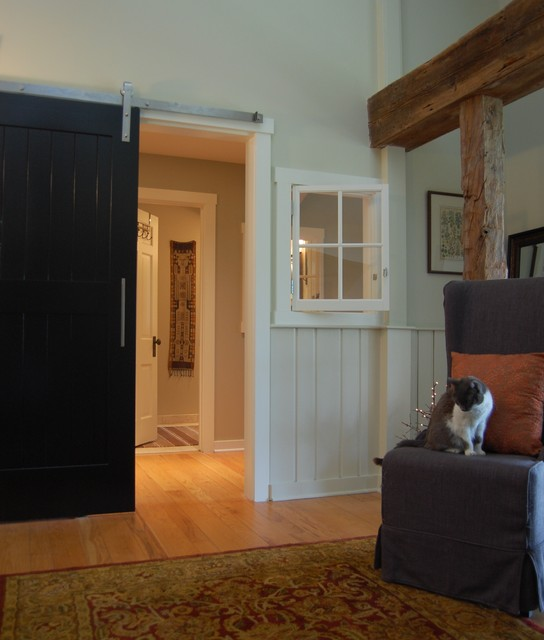 NEW ENTRY TO MASTER SUITE eclectic-entry