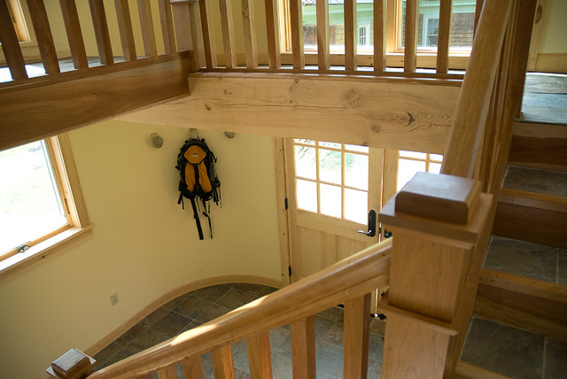 New hampshire house contemporary entry other metro for Interior designers hampshire