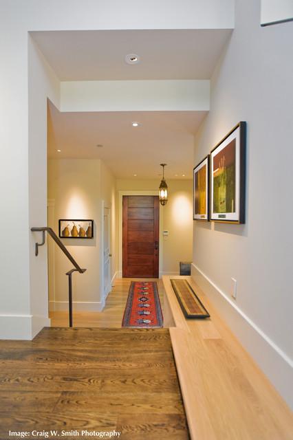 New Hillside Residence- 06369 contemporary-entry