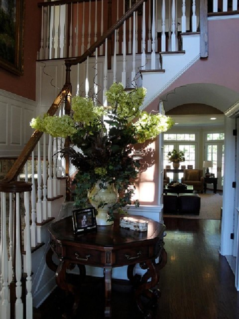 New Jersey Show House Traditional Entry New York