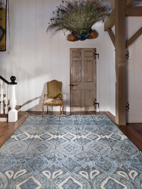 new moon rugs - bali - contemporary - entry - wilmington - by