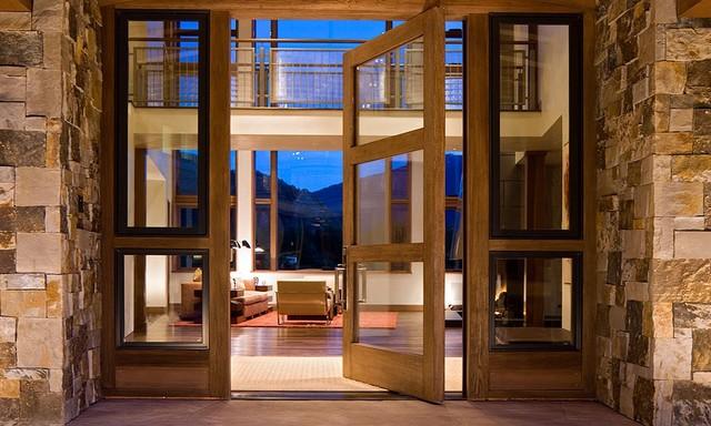 Nighthawk aspen colorado contemporary entry denver Modern houses denver