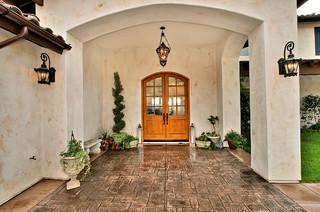 No 2 for Mediterranean front porch designs