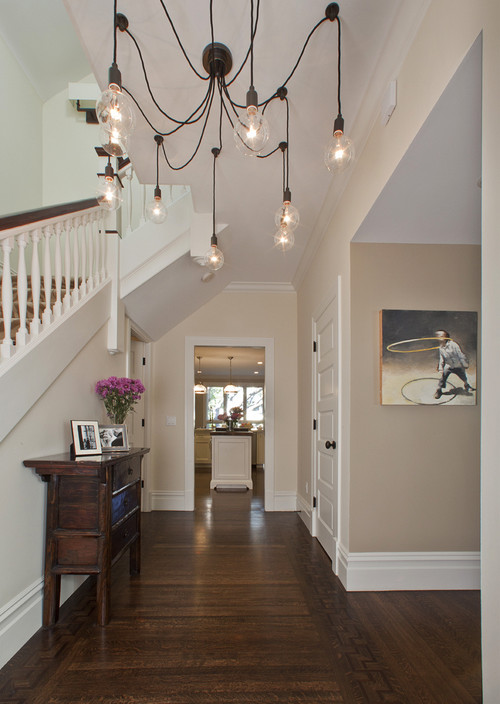 Modern foyer lighting ideas