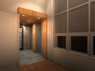 Oakland hillside residence - Modern - Entry - san francisco - by DNM Architect