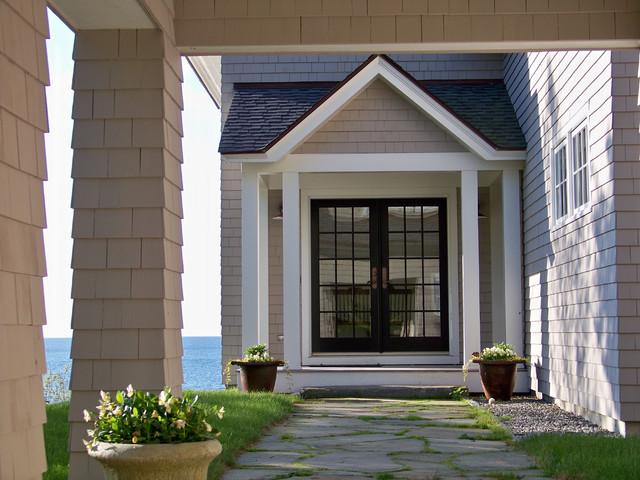 Oceanside Residence traditional-entry