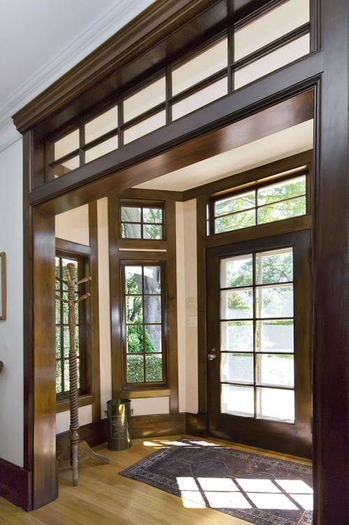 Here S A Some Stained Wood Trim Inspiration Images From Houzz