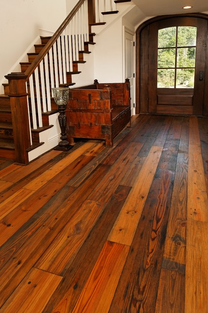 Old dirty goat traditional entry baltimore by for Clarksville flooring