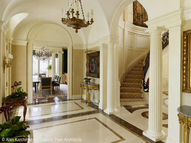 Old metairie residence classique entr e new orleans for Metairie architects