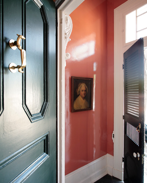 Old Town Alexandria Va Townhouse Traditional Entry Other Metro By Missie Fahey Inc