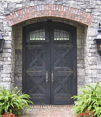 Old World Doors Mediterranean Entry