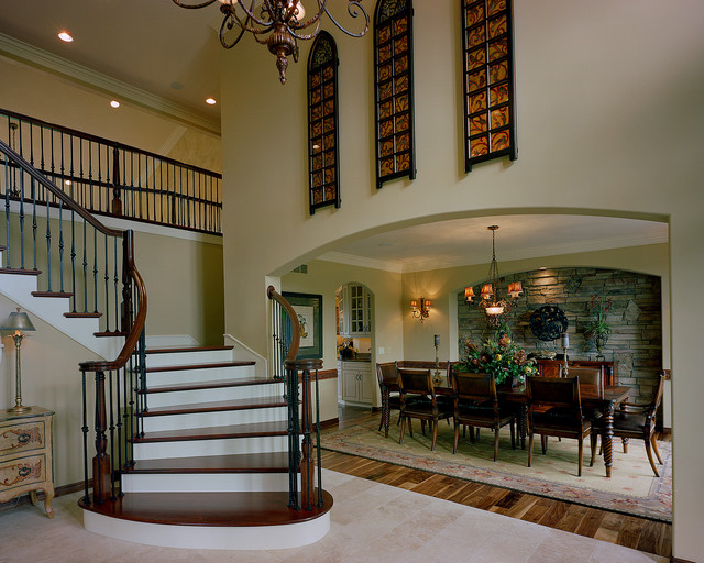 Rochester model traditional entry detroit by foran - Interior decorators rochester ny ...