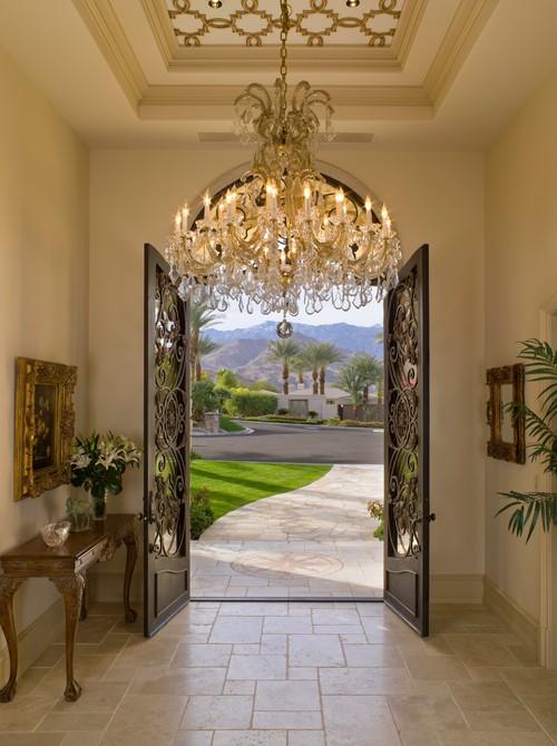 Houzz Elegant Foyers : How to install a foyer chandelier