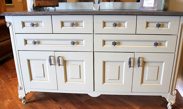Opulent Scroll Knobs and Pulls Antique Brass - Traditional - Entry - milwaukee - by Notting Hill ...