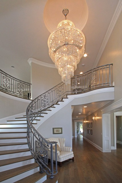 Orinda View traditional-entry