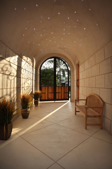 Outdoor Entry Hall mediterranean-entry