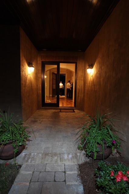 Outdoor Living Areas contemporary-entry