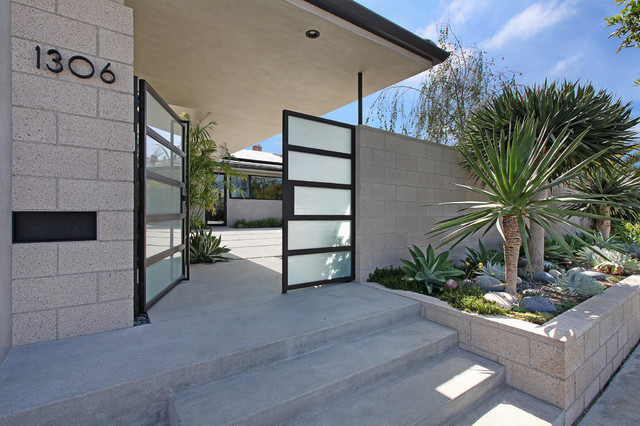 Outrigger Residence - Midcentury - Entry - orange county ...