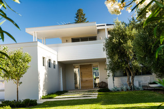 Ozone Extension/Renovation - Contemporary - Entry - perth - by Liz Prater Design Home