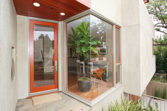 Pacific Palisades House 1 Modern Entry Los Angeles By Dworsky Architecture