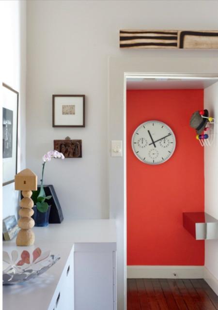 Paddington Apartment contemporary-entry
