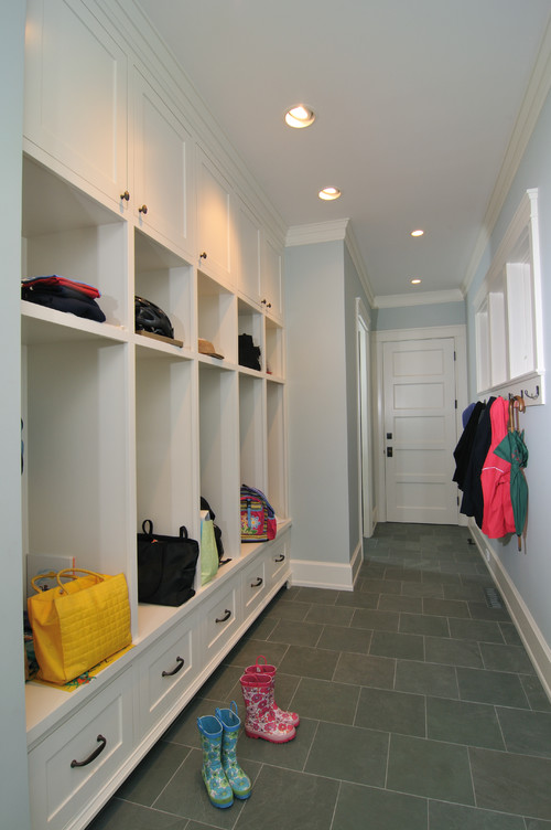 10 great mudrooms the inspired room for Mudroom floors