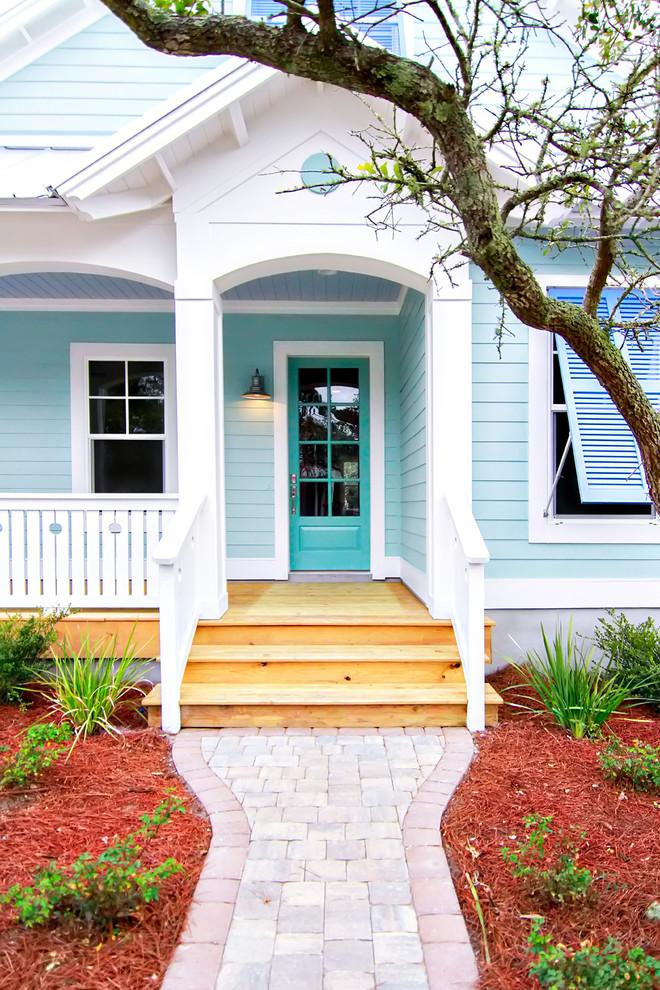 Beach style entryway photo in Jacksonville