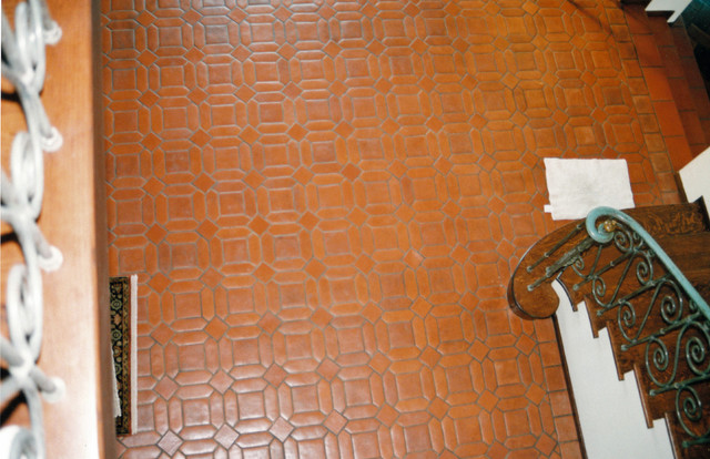 Park Place Baths and Floors traditional-entry