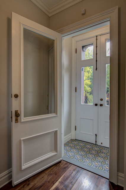 Park Slope Brownstone 3 Traditional Entry New York By Ben Herzog