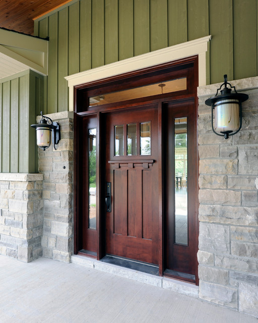 Parkway Project craftsman-entry