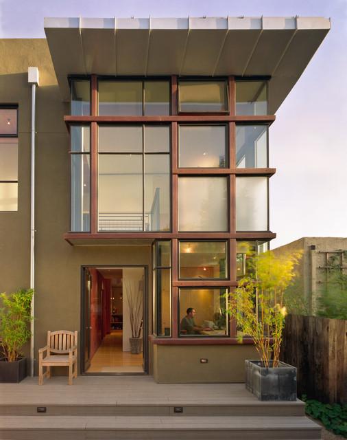 Parlette Residence modern-entry