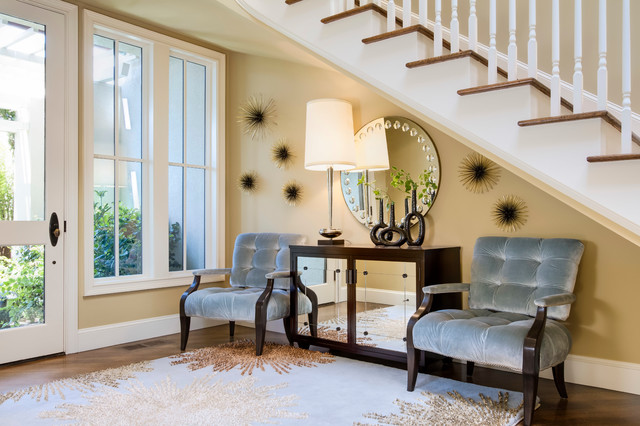 Pebble beach townhouse transitional entry san for Beach townhouse designs