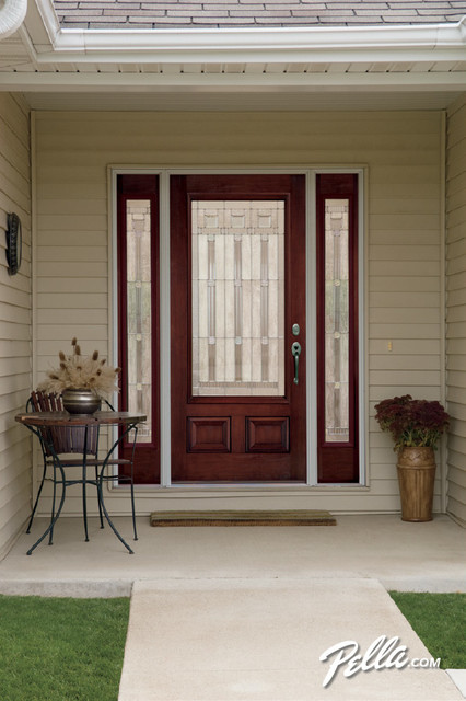 Pella® Architect Series® fiberglass entry doors transform your ...