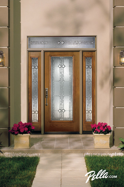 Pella Proline Entry Doors Add Low Maintenance High Performance Style Traditional Entry