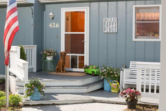 Pet Friendly Storm Doors Entry