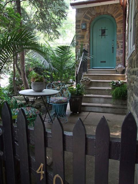 Philadelphia City Gardens mediterranean-entry