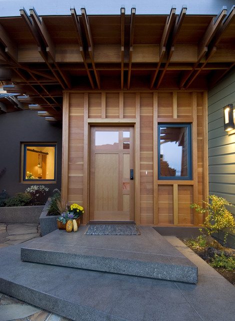 Pickhardt Residence contemporary entry