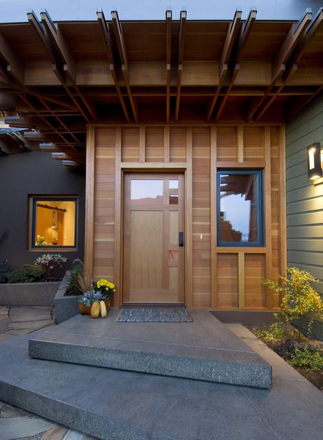 Pickhardt Residence contemporary-entry
