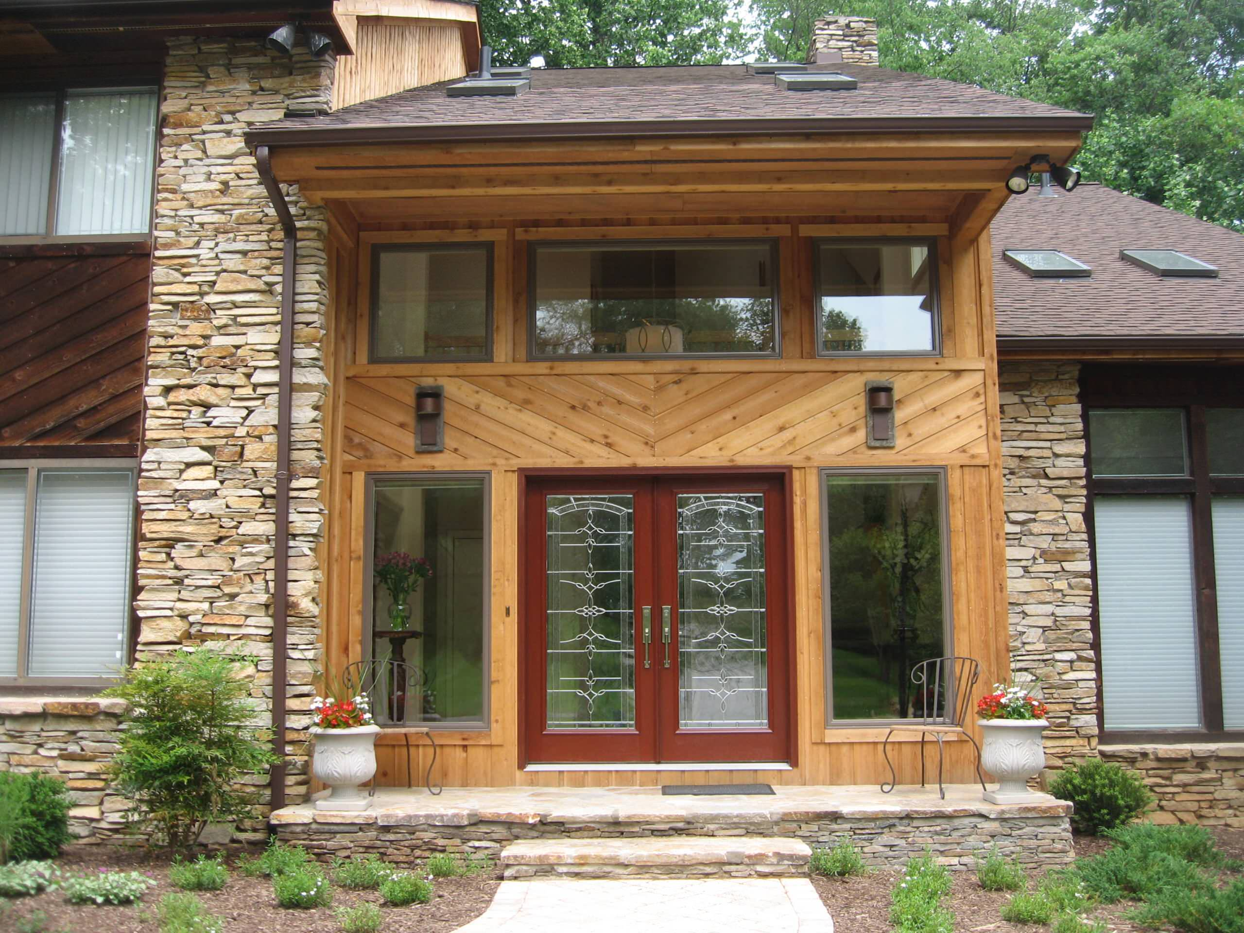 Pikesville Front Entry Addition
