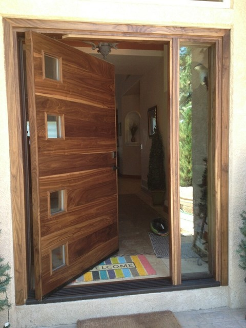 Pivot Door Eame Contemporary Entry Denver By