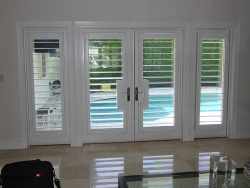 Where Can I Find These French Door Shutters?